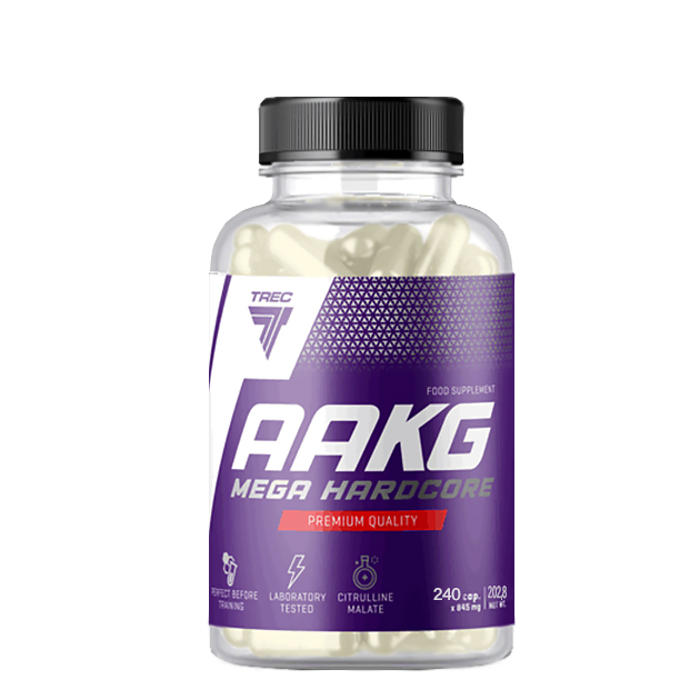 Предтренировочный комплекс Trec Nutrition AAKG Mega Hardcore 240 капс