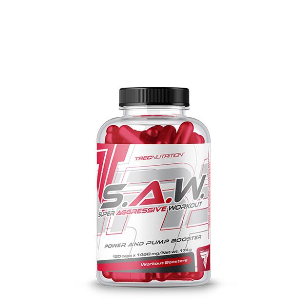 Предтренировочный комплекс Trec Nutrition S.A.W. 120 капс
