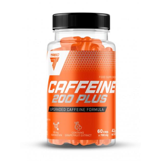 Предтренировочный комплекс Trec Nutrition Caffeine plus 200 60 капс