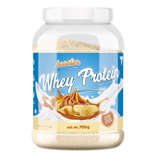 Протеин Trec Nutrition Booster Whey Protein 700 г Арахисовое масло - Банан