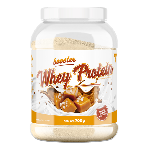 Протеин Trec Nutrition Booster Whey Protein 700 г Соленая карамель
