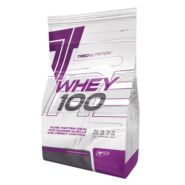 Протеин Trec Nutrition Whey 100 2275 г Ваниль