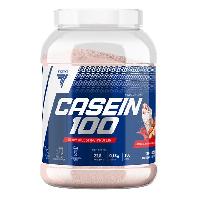 Протеин Trec Nutrition Casein 100 1800 г Клубника - Банан