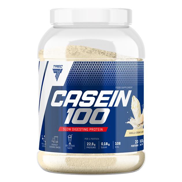 Протеин Trec Nutrition Casein 100 1800 г Ванильный крем