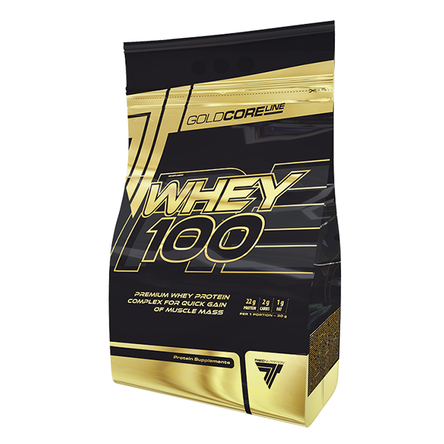 Протеин Trec Nutrition Gold Core Line Whey 100 900 г Вишня - Шоколад