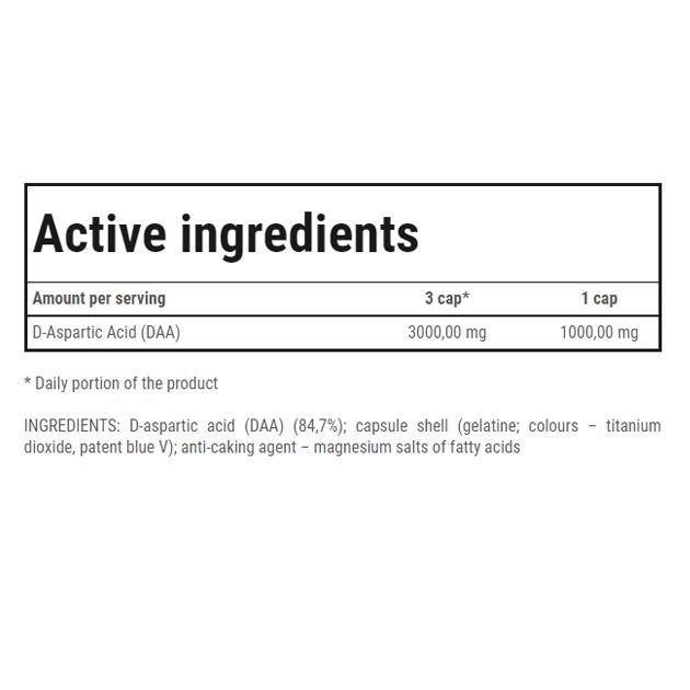 Тестобустер Trec Nutrition DAA Ultra 120 капс