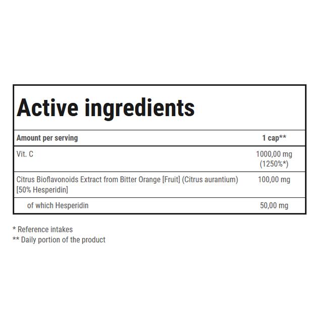 Витамины Trec Nutrition Vitamine C 1000 Ultra Bioflav 100 капс