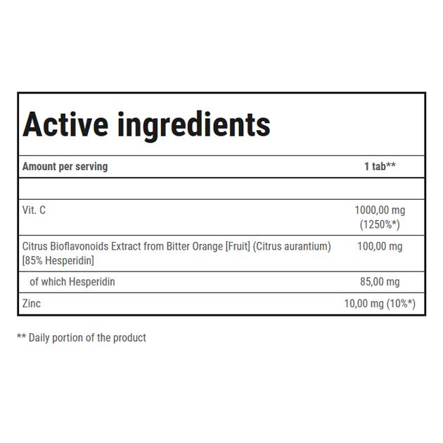 Витамины Trec Nutrition Vitamine C Strong 1000 100 таб