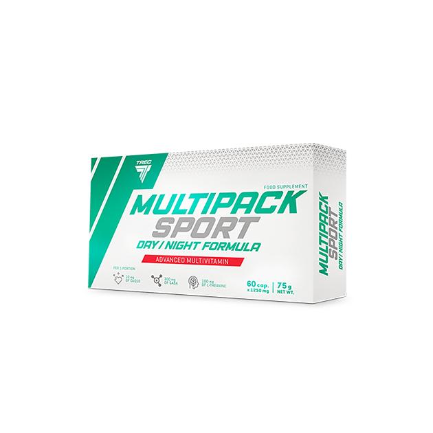 Витаминно-Минеральный комплекс Trec Nutrition Multi Pack Sport Day/Night 60 капс