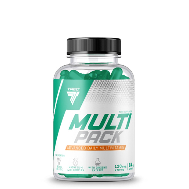 Витаминно-Минеральный комплекс Trec Nutrition Multi Pack 120 капс