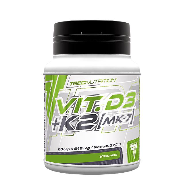 Витаминно-Минеральный комплекс Trec Nutrition Vit. D3 + K2 (MK-7) 60 капс