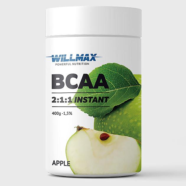 Аминокислоты Willmax BCAA 400 г Яблоко
