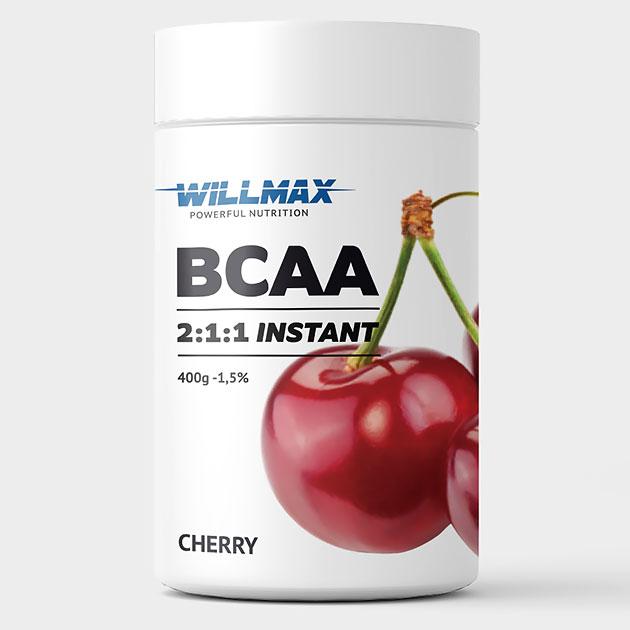 Аминокислоты Willmax BCAA 400 г Вишня