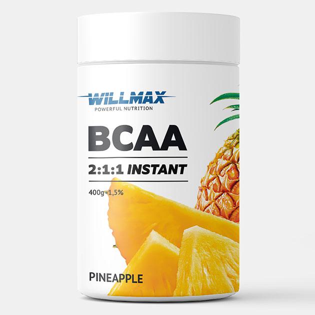 Аминокислоты Willmax BCAA 400 г Ананас
