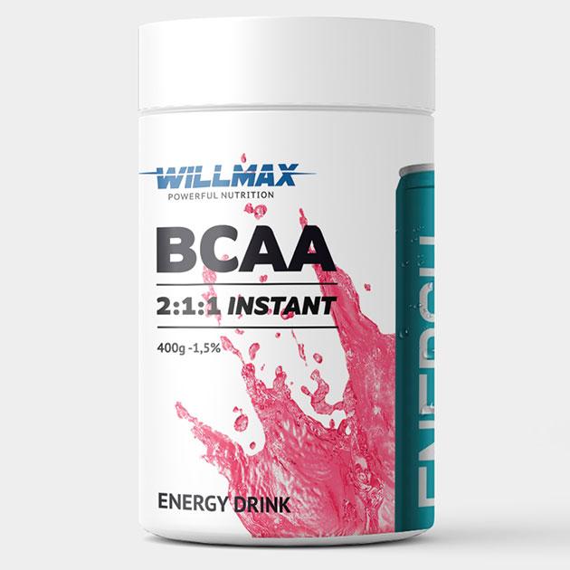 Аминокислоты Willmax BCAA 400 г Ред Булл