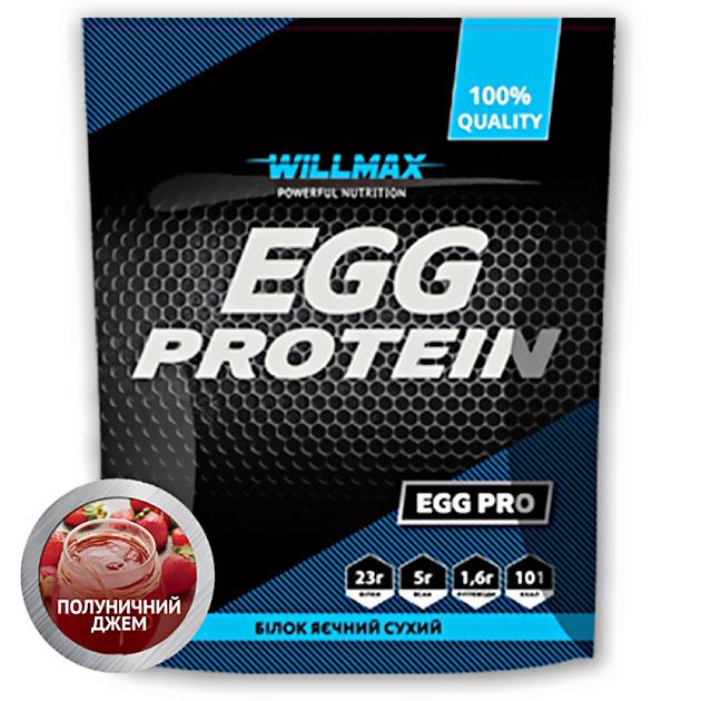 Протеин Willmax Egg Protein 900 г Клубничный Джем