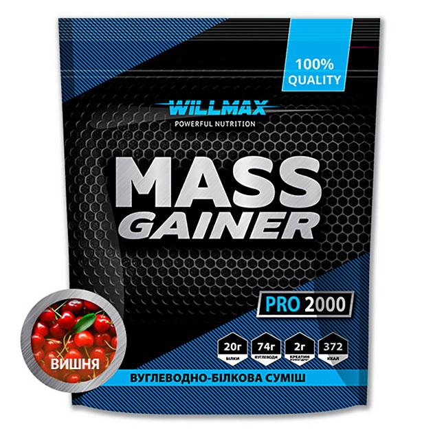 Гейнер Willmax Mass Gainer Pro 2000 г Вишня
