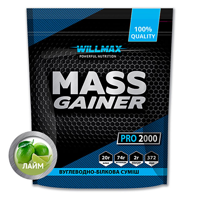 Гейнер Willmax Mass Gainer Pro 2000 г