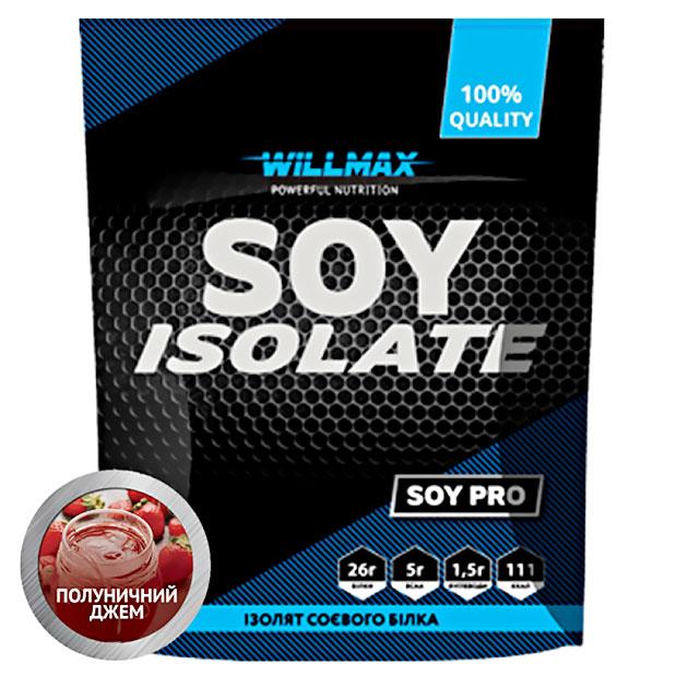 Протеин Willmax Soy Isolate 900 г Клубничный джем