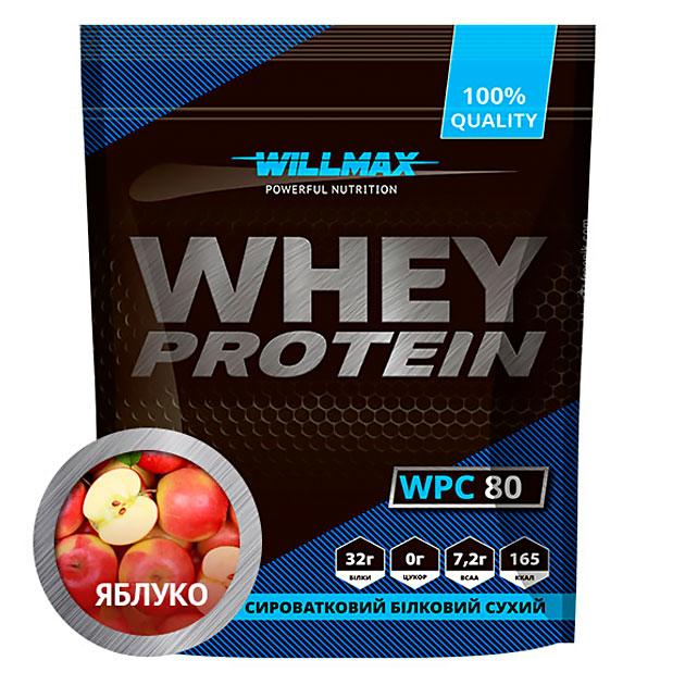 Протеин Willmax Whey Protein 80 920 г Яблуко