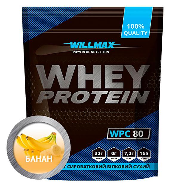 Протеин Willmax Whey Protein 80 920 г Банан