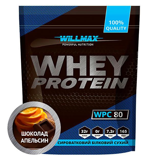 Протеин Willmax Whey Protein 80 920 г Шоколад - Апельсин