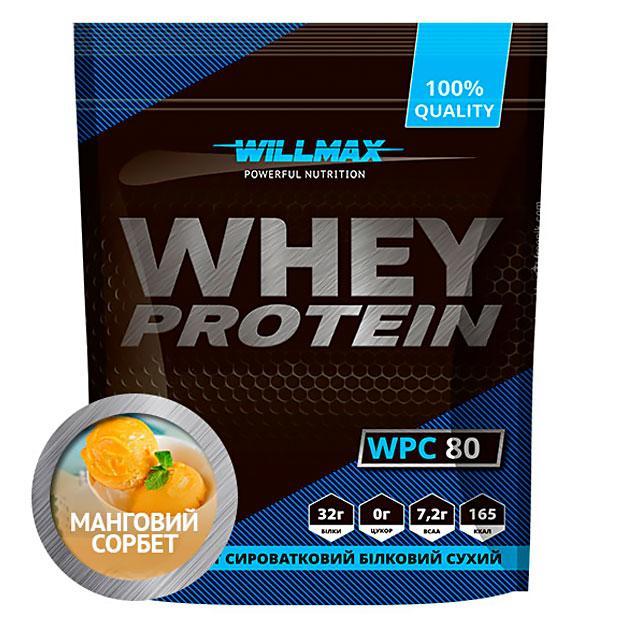Протеин Willmax Whey Protein 80 920 г Манговый сорбет