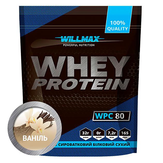 Протеин Willmax Whey Protein 80 920 г Ваниль
