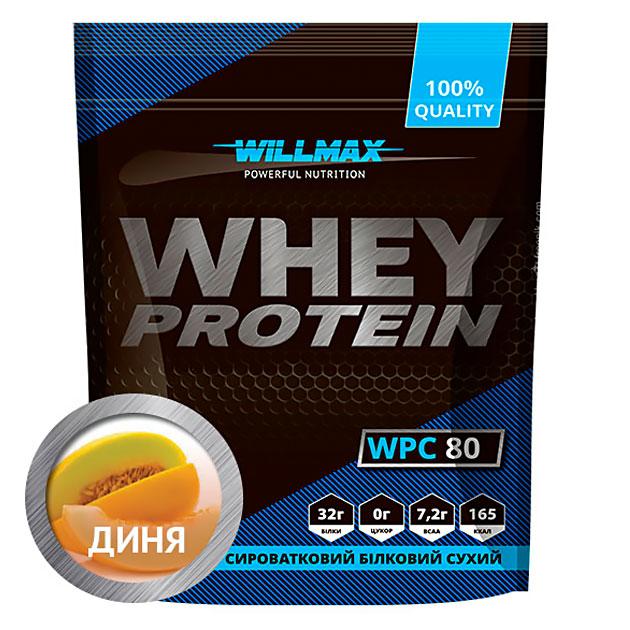 Протеин Willmax Whey Protein 80 920 г Дыня