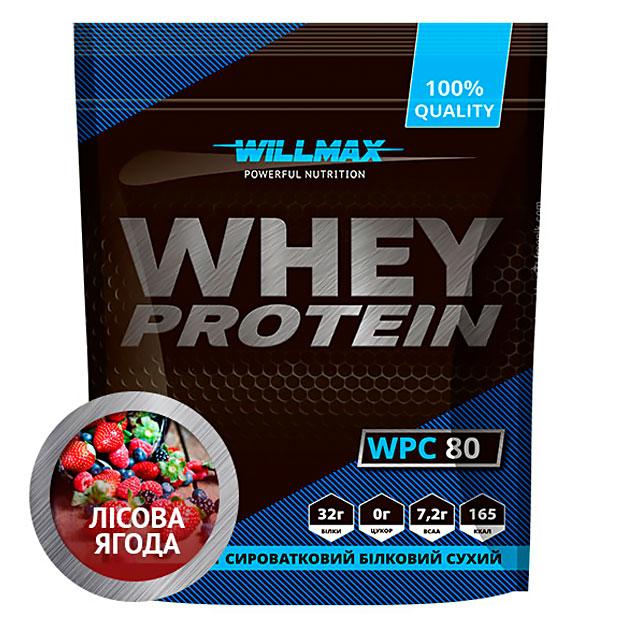 Протеин Willmax Whey Protein 80 920 г Лесные ягоды