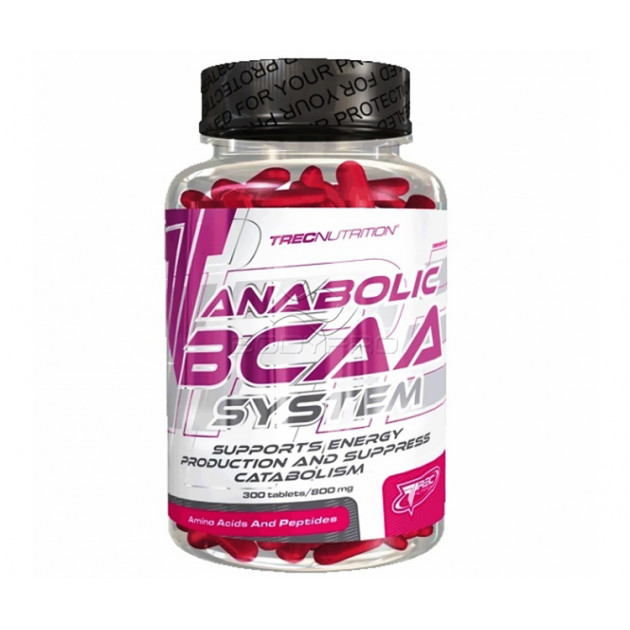 Аминокислоты Trec Nutrition Anabolic BCAA System 300 таб