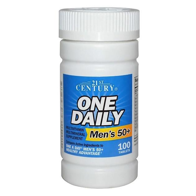 Витамины 21st Century One Daily Men's Health 100 таб