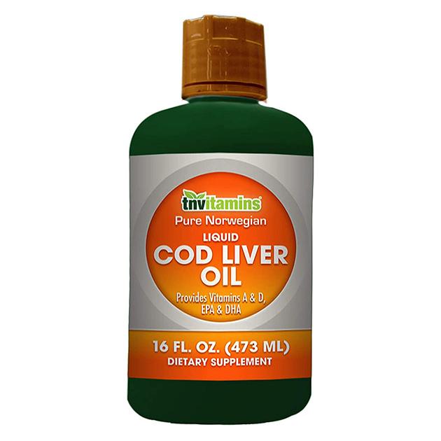Жирные кислоты  Liquid Cod Liver Oil Tnvitamins 473 мл
