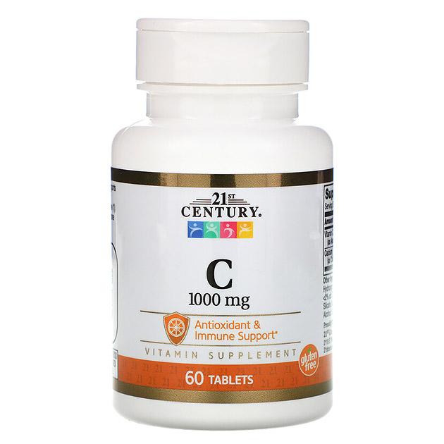 Витамины  21st Century С 100 mg 60 таб